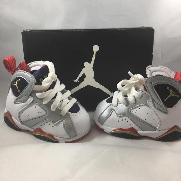 a41dd34c96c Jordan Shoes | Nike Air Vii Retro Olympic White Gold 2c | Poshmark